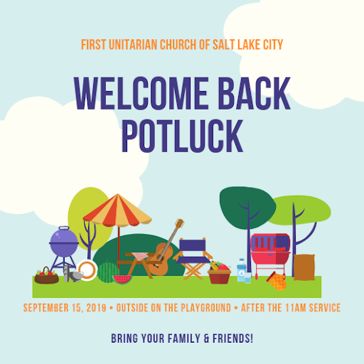 welcome back potluck 9 15 19
