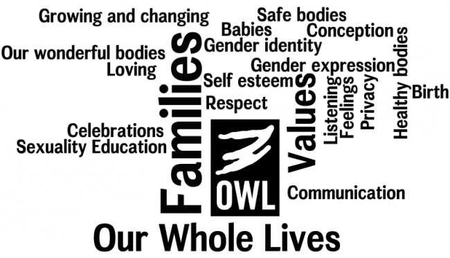 OWL- Our Whole Lives Comprehensive Sexuality Education